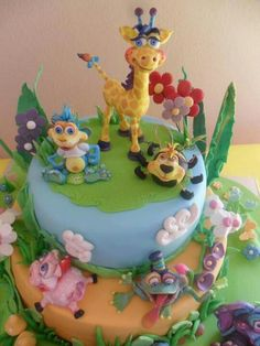 Kali loves the giggle bellies! Theme for her first birthday! Baby 1st Birthday, 1st Birthday Parties, Birthday Cake, Birthday Ideas, Birthday Stuff, Belly Cakes, Giraffe Cakes, Cake Design Inspiration, Character Cakes