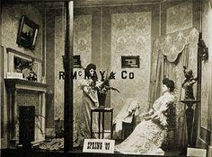 R. Mckay and Company window display, 1907. #Edwardian #vintage #storefront_windows