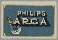 Philips Radio. Philips Argenta. Philips Arga