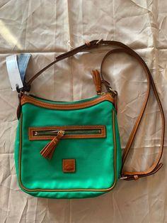 18da21c20fb2 dooney bourke handbag green crossbody purse NWT  178  fashion  clothing   shoes  accessories