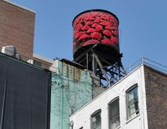 NY's water tanks to become public art - yet another reason to head back over!