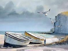 """Résultat de recherche d'images pour """"peinture paysage marin breton"""""""