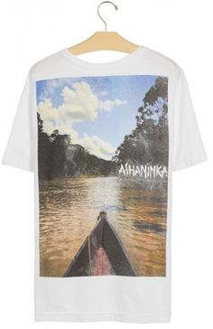 Osklen - T-SHIRT STONE RIO AMONEA MC - t-shirts - men