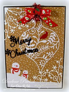 Dar's Crafty Creations: Dies R Us holiday card inspiration . . .