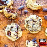Biskut Cip Coklat Cream Cheese