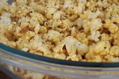Seasoned Popcorn Recipes. Use the herbs in your pantry :)