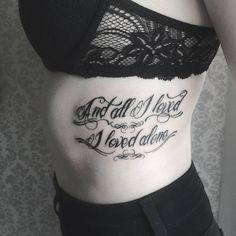 Tattoo by Liz Minelli Art