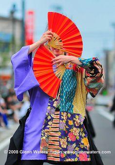 Yosakoi Soran Festival Japan: photo by Glenn Waters