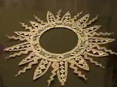 плетение из соломки сувениры - Google Search