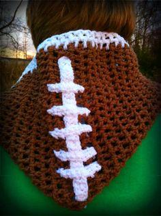 football-crochet-scarf.jpg 450×603 pixels