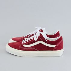 Vans Old Skool Rio Reds! THERE NEXT!