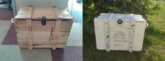 Bee transfer, shabby chic, box