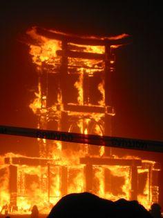 Bascura Sagrada, The Temple - Burning Man '08 (I think)