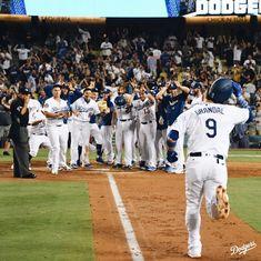 ca3f76a53 Dodger baseball at its best! Let's Go Dodgers, Dodgers Girl, Dodgers  Baseball,