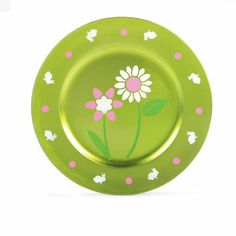 Martha Stewart Crafts™ Stencil-Painted Flower Charger