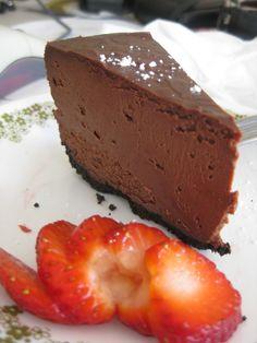 Deep Dark Chocolate Cheesecake