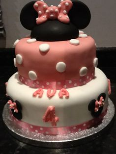 Tiered Mouse cake with choice of sponge and filling.  Further details on our Facebook page https://www.facebook.com/ChrissCakeAway  A website is currently being built
