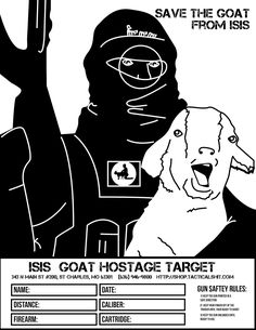 Save the goat from ISIS