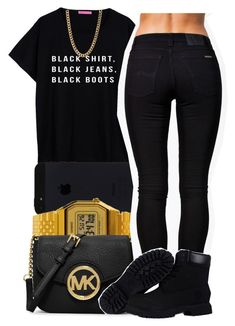 """black."" by jadeessxo on Polyvore"