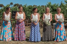 Kirby and Jamie's Bohemain Festival Wedding In Australia by White Shutter…