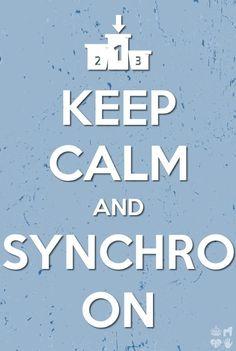 Keep Calm and Synchro On! #synchro #winterfest #bringit!!