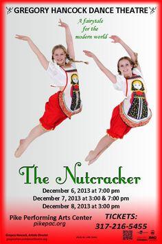 Dance Performances and Season Info - Gregory Hancock Dance Theatre | Carmel, Indiana. The Nutcracker- A Fairytale for the modern world