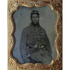 Ninth plate tintype of Johnny Reb. This one has his name scratched into the backside of the preserver. Mr. Joseph Cady of Alabama. Joseph muster with Co. B of the 3rd Alabama Volunteer Militia on March 1st of 1862. After a short stint with that regiment it was mustered out and he then took arms with Co. A of the 11th Alabama Infantry. The 11th saw a lot of very heavy action during their service. Not much information can be found on Cady but it appears he did sign his Oath of Allegiance in…