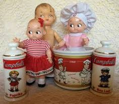 Doll vintage campbell soup