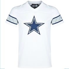 Dallas Cowboys Supporters Jersey    Das Dallas Cowboys Supporters Jersey ist optimal fürs Stadion und für Freizeitaktivitäten geeignet . Mit dem Dallas Cowboys Supporters Jersey aus 100% Baumwolle aus dem Hause New era bist du der FAN deines Teams!    Hersteller: New Era  Team: Dallas Cowboys  Material: 100% Baumwolle...