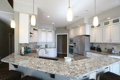 Of Wood and Waters: Chisholm Feature Home Kitchen  Click for more of the Chisholm Home