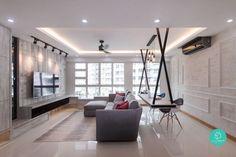 12 Must See Ideas On 4 Room / 5 Room HDB Renovation. Home Interior  DesignHome ...