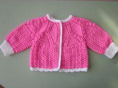 Ideas para el hogar: Campera y jumper para niñas crochet patrones