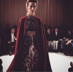 Vogue Paris via Instagram - Valentino Couture