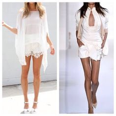Possible for a White Party; saying good bye to summer in style. Outfits that makes heads turn. Check it out.   http://ashleysflawlessbeautytips.blogspot.com/2013/08/what-to-wear-to-all-white-party.html