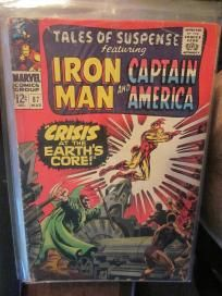 Capt. America Iron Man Tales Of Suspense #87  1967 Marvel Comics G+/VG range