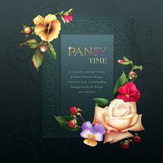 "Jaguarwoman's ""Pansy Time"""