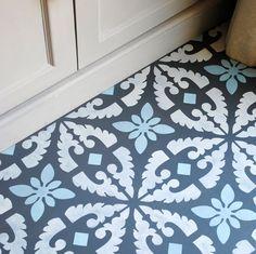 Image of Large Cordoba Floor Stencil