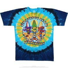 Grateful Dead Tie Dye T Shirt Beach Bear Bingo – Blue Mountain Dyes - Free Shipping over $10