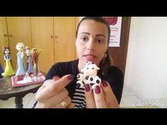 DIY: Vaquinha com molde mini pet /Tema fazendinha/ vaquinha de biscuit F...