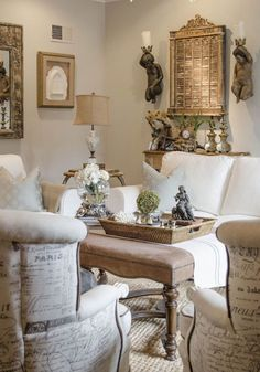 Gorgeous French Country Living Room Decor Ideas 31