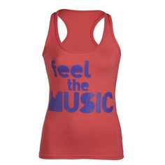 #ZumbaFreak Feel the Music Zumba Racerback