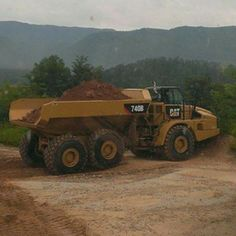 Caterpillar 740b we got at work #snapcartercat  Entered by @cameroncoates_92