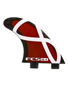 Fcs Ul-3 Thruster Surfboard Tri Fin Set ... Check it out at http://www.surfinggeardeals.com/fcs-ul-3-thruster-surfboard-tri-fin-set-red