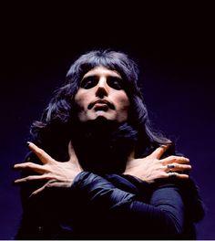 Freddie Mercury, by Mick Rock