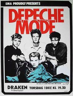 Depeche Mode 1983 at Draken Stockholm