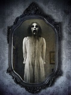 The legend of Bloody Mary is said to be biased upon a woman named Mary Worthington(or Worth) whose husband killed her in front of a mirror and gouged her eyes out. Saying Bloody Mary in front of a mirror three times is supposed to summon her where she seeks revenge for her death on the person who called her name.