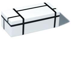 desiary.de - Stiftaufbewahrung, weiß/ schwarz