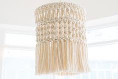 Macramé Mondays… Could become a thing right? Now, I have to admit, I'm not a chandelier kinda gal, and you're much more likely to find me sitting under the stars than under a mountain of cut glass. But when I spotted an incredible macrame chandelier in a local coffee shop, I have to admit I … Read More