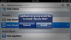 Hide Unwanted Apple iOS Apps Without Jailbreaking