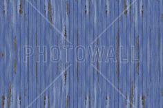 Blue Vintage Wood Wall - Fototapeter & Tapeter - Photowall